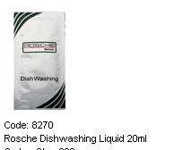 ROSCHE DISHWASHING LIQUID SACHET 20ML(300 PER CAR)