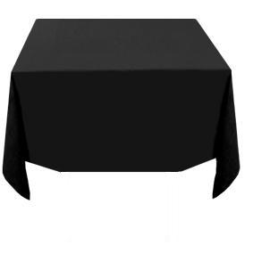 TABLECLOTH 137x137CM BLACK