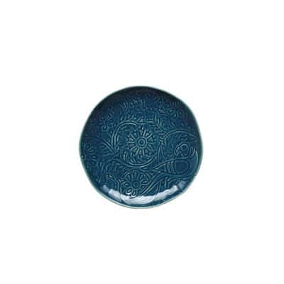 VILAMOURA GOA BLU ROUND PLATE-275mm COUPE