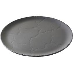 REVOL BASALT ROUND PLATE 285mm