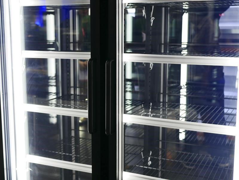 Commercial Glass Bar Fridge