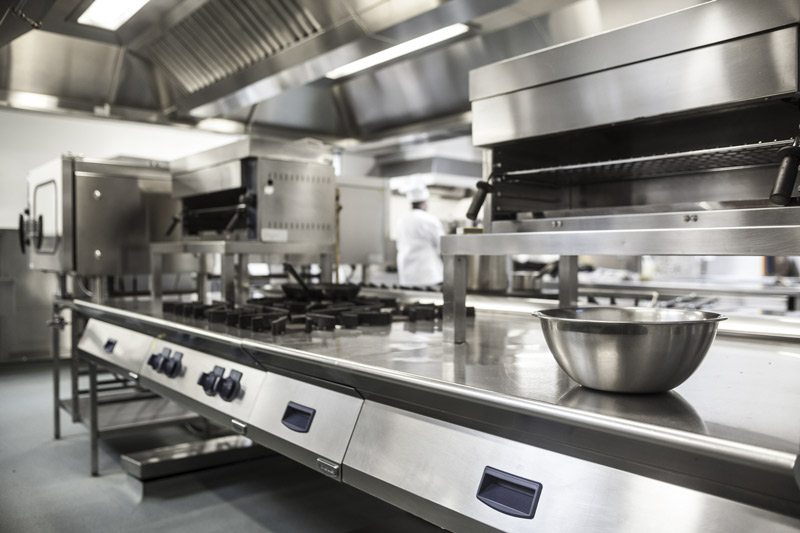 commercial kitchen hospitality industry