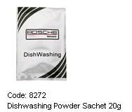 ROSCHE DISHWASHING POWDER SACHET 20G( 300 PER CAR)