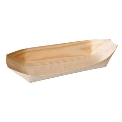 bamboo disposable boat