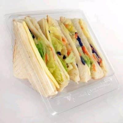 sandwich wedge box