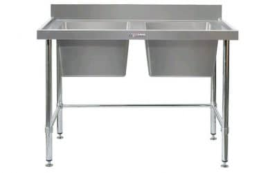 stainless steel bowl bench