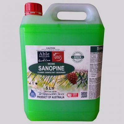 SANOPINE Cleaner, Disinfectant, Deoderiser  5LTR