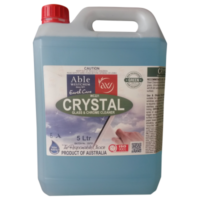 CRYSTAL S/S AND GLASS CLEANER 5ltr