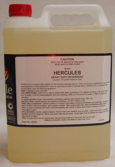 HERCULES Floor Cleaner H/D 5Ltr