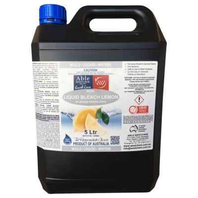 LEMON LIQUID BLEACH 4% 5L