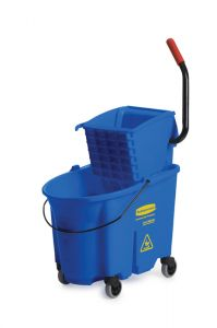 RUBBERMAID WAVEBRK MOP BUCKET BLUE