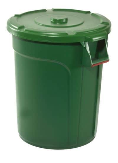 THOR BIN 75L GREEN ROUND (490×570)