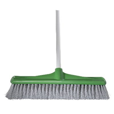 BROOM JUMBO INDOOR 450mm GREEN