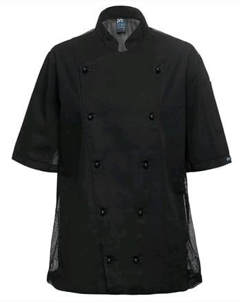 PROCOOL BLACK CHEF JACKET W/MESH3XL discontinued