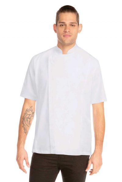 CHEFWORKS SPRINGFIELD WHITE JACKET XS w/zip