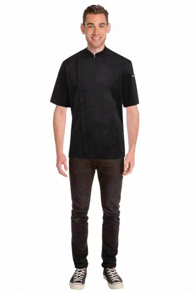CHEFWORKS SPRINGFIELD BLACK JACKET S w/zip