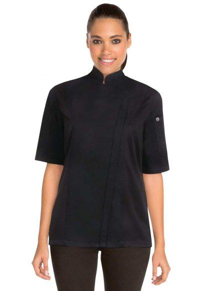 CHEFWORKS SPRINGFIELD BLACK JACKET XL w/zip