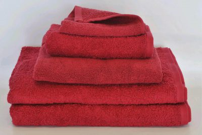 BATH TOWEL 70x140 450gsm - BURGUNDY