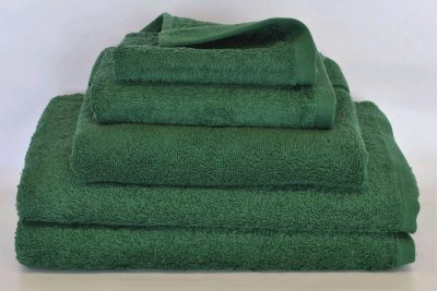 BATH TOWEL 70x140 450gsm - DARK GREEN