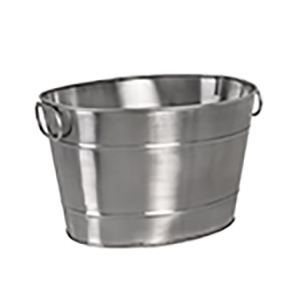 MODA BEVERAGE TUB 360X270X220 OVAL