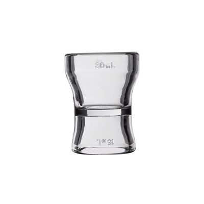 JIGGER Acrylic 15/30ml (cap. cert,)