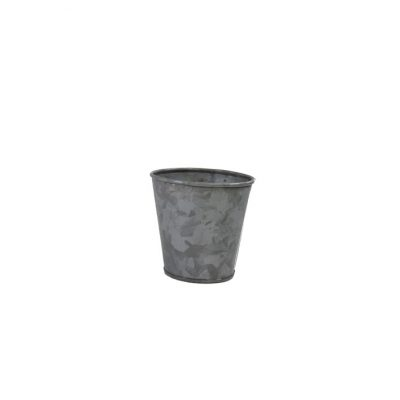 CONEY ISL GALVANISED POT 95X105MM 78600