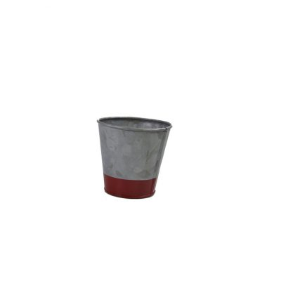 CONEY ISL GALVANISED POT DIPPED RED 95X105MM 78601