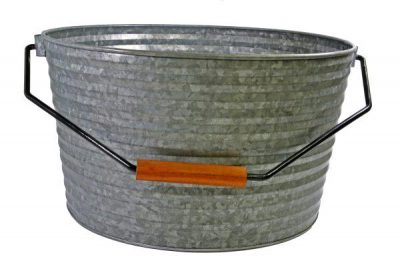 CONEY ISL GALVANISED BEVERAGE TUB 450X340MM