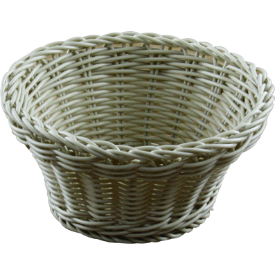 BASKET BREAD RND PP HD TAPERED 20cm