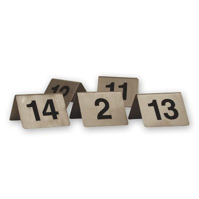 TABLE NUMBER S/S 'A' FRAME 51-60