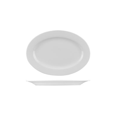 Classicware 235×165 Oval Plate 1142