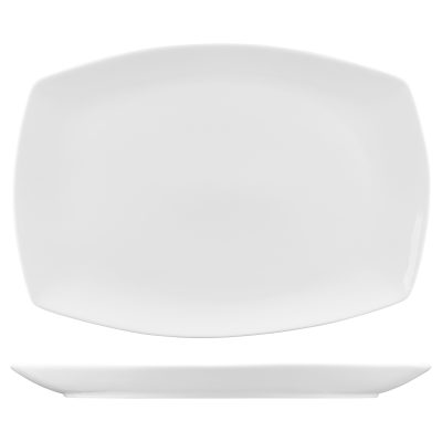 CLASSICWARE OBLONG CURVED PLATTER 16×11.5 400.44