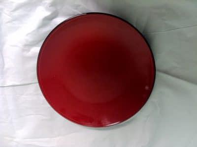 UNIQ RED RND PLATE 310MM 6653