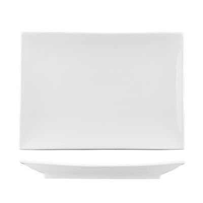 CLASSICWARE RECTANGLE COUPE PLATE 205X140MM (413)