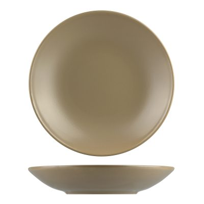 NATURAL SATIN SAND ROUND COUPE BOWL 280MM 9933B-SB