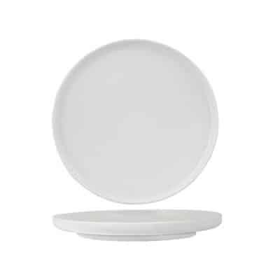 LUZERNE WHITE ROUND PLATE 165MM