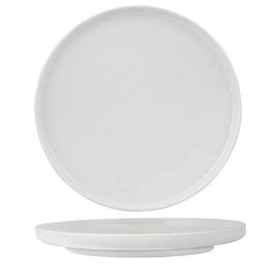LUZERNE WHITE ROUND PLATE 280MM