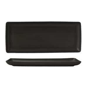 ZUMA BLACK SHARE PLATTER 340X140MM(12/6)