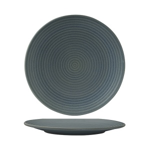 ZUMA DENIM ROUND RIBBED PLATE 265MM 18/6