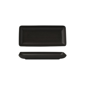 ZUMA BLACK SHARE PLATTER 220X100MM(36/6)