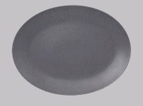 NEO FUSION-STONE COUPE PLATTER 36X27CM *INDENT*