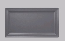 NEO FUSION-STONE RECT FLAT PLATE 28X21CM *INDENT*