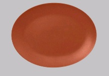 NEO FUSION- TERRA OVAL PLATTER 36X27CM *INDENT*