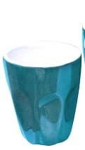 INCASA 90ml MACHIATTO CUP BLUE