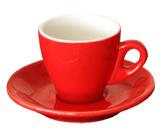 INCASA RED ESPRESSO CUP ONLY (90ml)