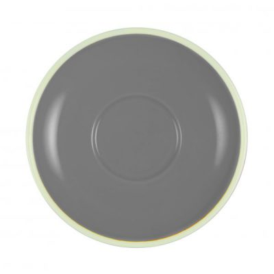 BREW-FRENCH GREY/WHITE ESPRESSO SAUCER BW0505