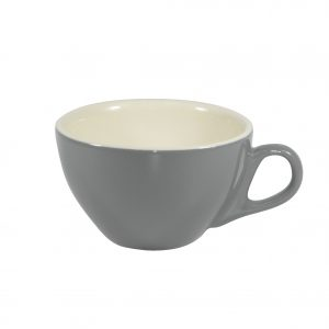 BREW-FRENCH GREY/WHITE CAPPUCCINO CUP 220ml