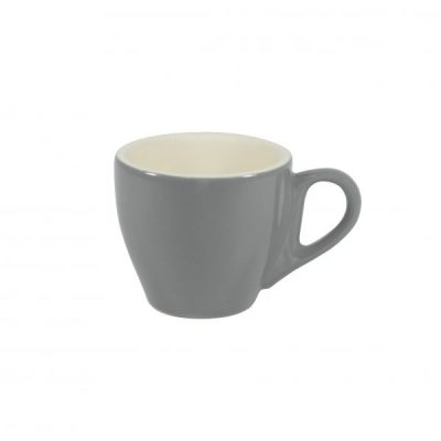 BREW-FRENCH GREY/WHITE ESPRESSO CUP 90ml