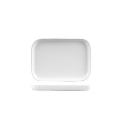 BEVANDE RECT TRAY 180X130 BIANCO