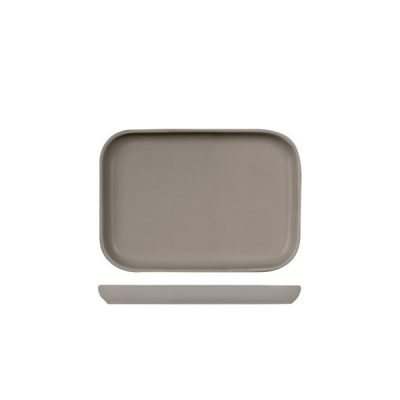 BEVANDE RECT TRAY 180X130 STONE